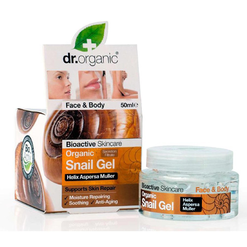 Image of Dr. Organic Snail Gel Face & Body (50 ml)