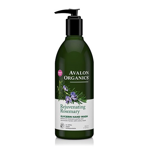 Image of Avalon Organics Handsoap Rosemary Rejuvenating (355 ml)
