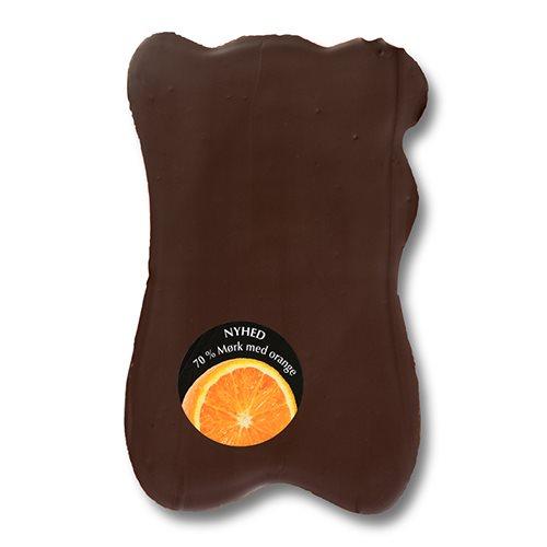 Økoladen Chok o blok orange & knas Ø