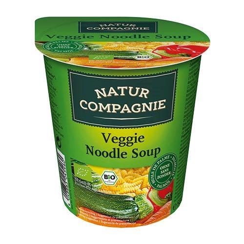 Image of Natur Compagnie Grøntsags- og nuddelsuppe Ø Asiatisk instant (55 g)