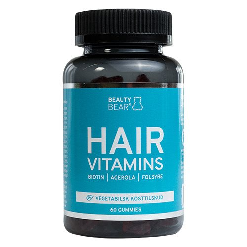 Image of Beauty Bear HAIR Vitamins (60 stk)