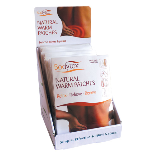 Image of Bodytox Natural Warm Patches (2 stk)