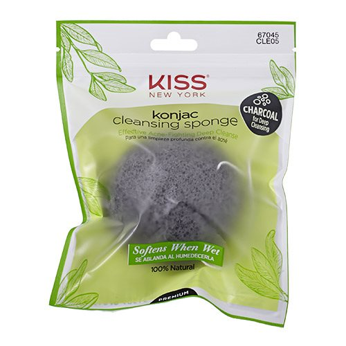 Image of Konjac Sponge charcoal cleansing (1.stk)