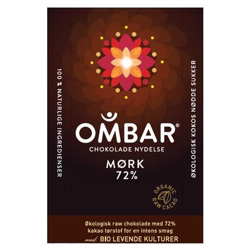 Image of Bar Raw Chokolade 72 % Ombar Ø (35 gr)