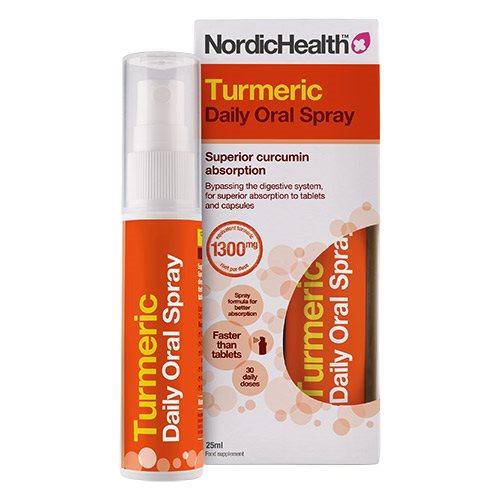 Image of NordicHealth Gurkemeje spray (25 ml)