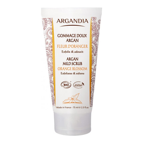 Image of Argandia Argan Mild Scrub, Orange Blossom (75 ml)