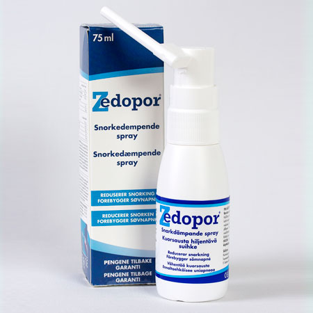 Image of Zedopor® Snorkedæmpende spray (75 ml)