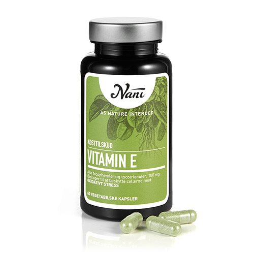 Image of Nani Food State E-vitamin (60 kap)