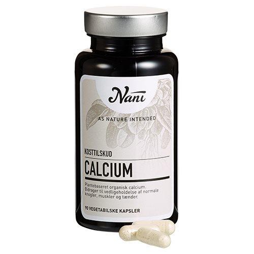 Image of Nani Food State Calcium (90 kapsler)