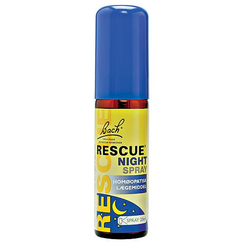 Image of Bachs Rescue Night Spray - 20 ml.