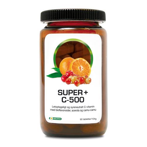 Tilbud på Super+ C-500 (90 tab)