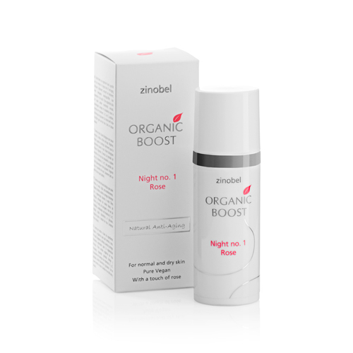 Image of Organic Boost Night No. 1 Rose Natcreme (50 ml)