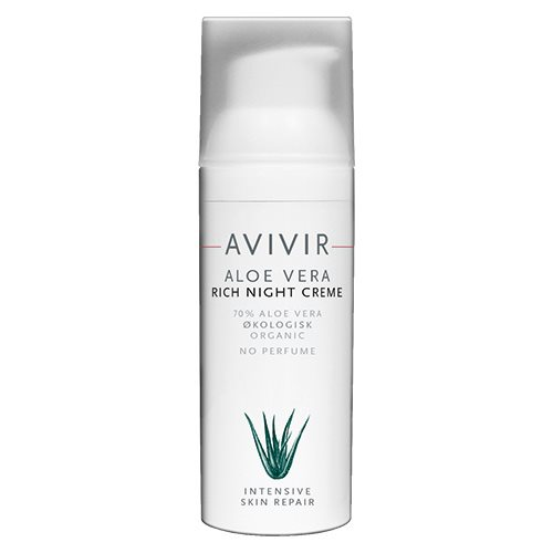 Image of AVIVIR, Aloe Vera Rich Night Creme (50 ml)