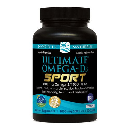 Image of Nordic Naturals Ultimate Omega D3 Sport (60 kap)