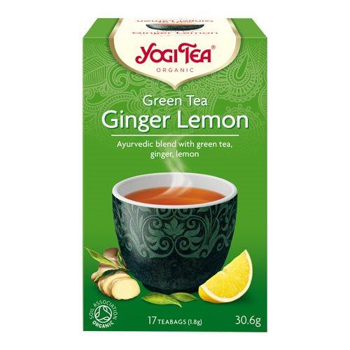 Image of Yogi Green Tea Ginger Lemon Ø (17 br)