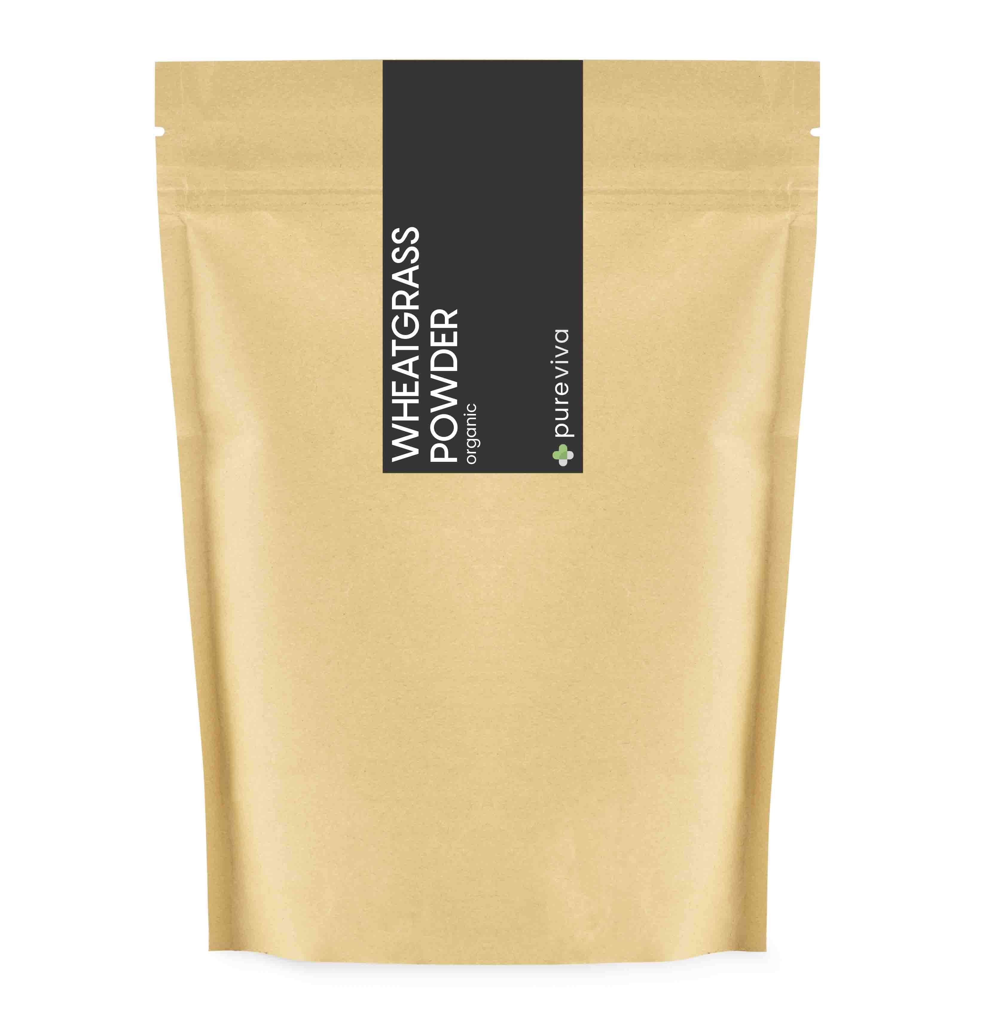 Pureviva hvedegræs pulver ø 250 g