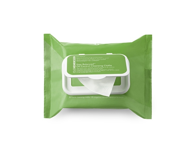 Ole Henriksen Stay Balanced Grease Relief Cleansing Cloths (30 ml)