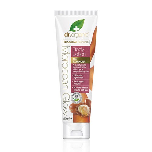 Image of Dr. Organic Moroccan Glow Bodylotion tan extender (150 ml)
