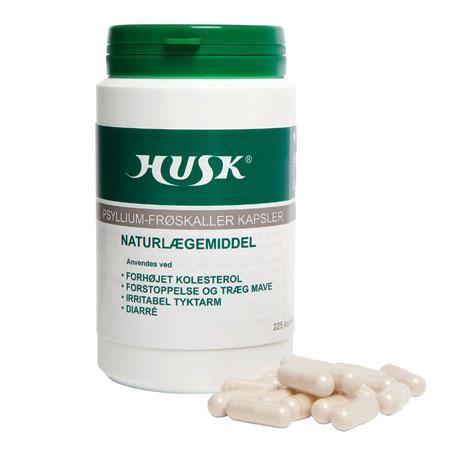 Image of HUSK® Psyllium Basic Fibre (225 kapsler)