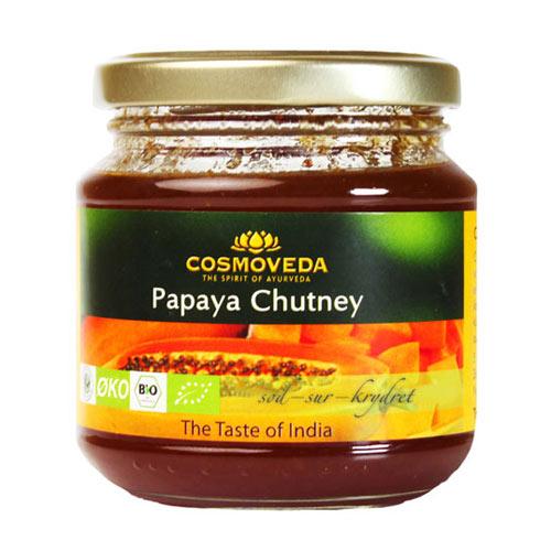 Image of Cosmoveda Papaya Chutney Ø (225 gr)