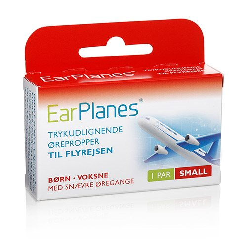 Image of Earplanes - Small Trykregulerende ørepropper af blød silikone (1 par)