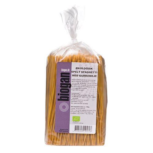 Image of Biogan Spelt Spaghetti m. Gurkemeje Ø (250 g)