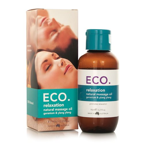 ECO. Massageolie Afslappende (95 ml)