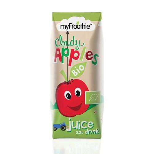 Image of MyFroothie apple Ø børnejuice 3*200 ml.