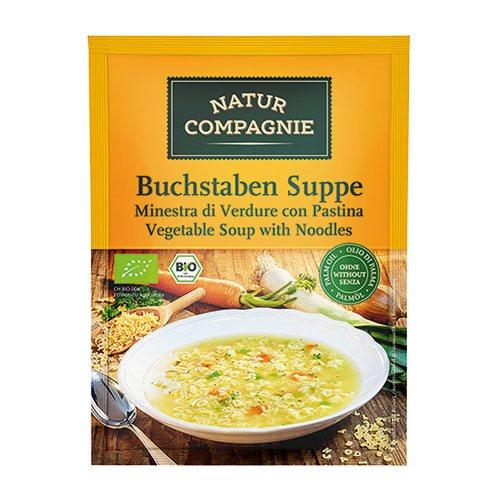 Image of Natur Compagnie Grøntsagssuppe m. pasta Ø (50g)
