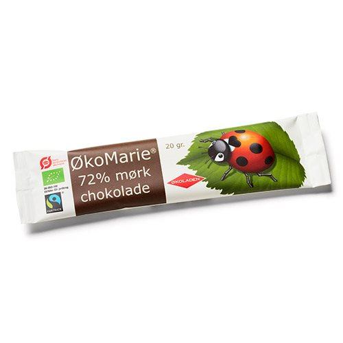 Økoladen ØkoMarie 72% Mørk Chokolade Ø