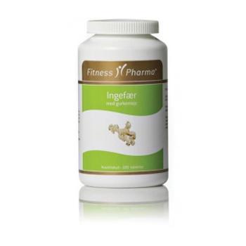 Image of Fitness Pharma Ingefær M. Gukemeje (250 tabletter)