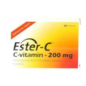 Image of Ester-C 200mg (90 tab)