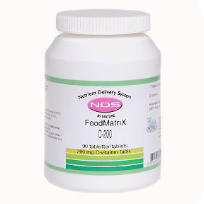 Image of NDS C-200 - C vitamin, 90 Tab