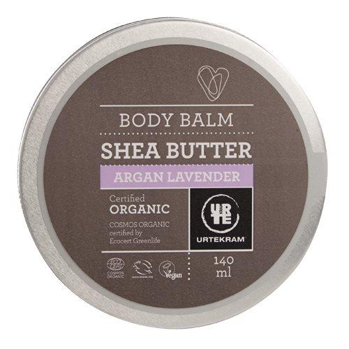 Urtekram Body Balm argan/lavendel Shea butter (140 ml)