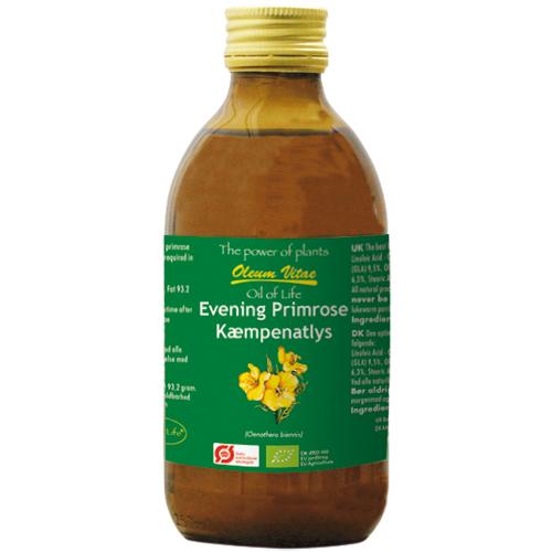 Image of Livets Olie - Oil Of Life Kæmpenatlysolie Ø (250 ml)