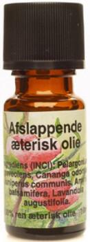 Image of Afslappende æterisk olie 100 % ren (10 ml)