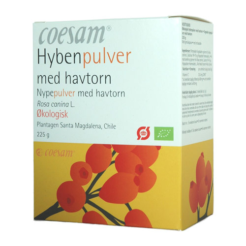 Coesam hybenpulver fra Helsebixen