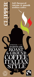 Image of Clipper Roast & Ground Coffee Italian Style Ø (227 gr)
