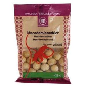 Image of Urtekram Macadamianødder m. Havsalt Ø (65 gr)