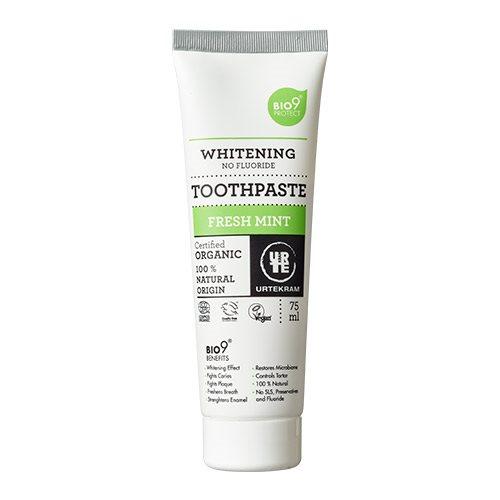 Urtekram Bio9 tandpasta fresh mint (75 ml)
