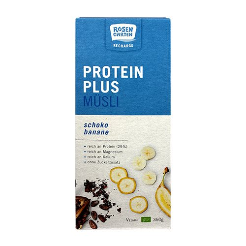 Protein Plus Mysli - Chokolade & Banan Ø (350 g)