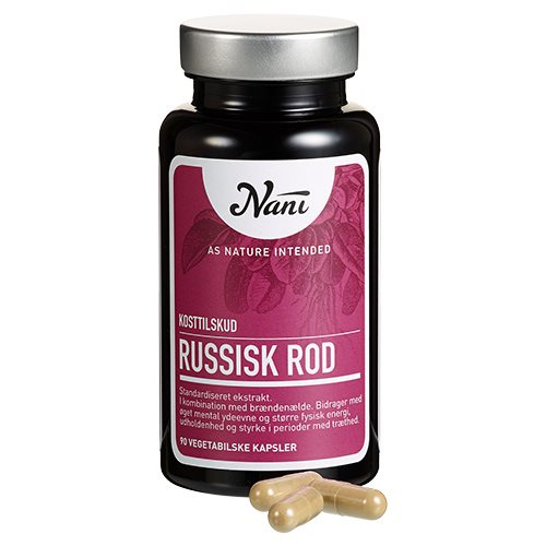 Image of Nani Food State Russisk Rod (90 kapsler)