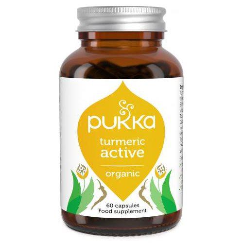 Image of Pukka Tumeric Active kapsler Ø (60 kap)