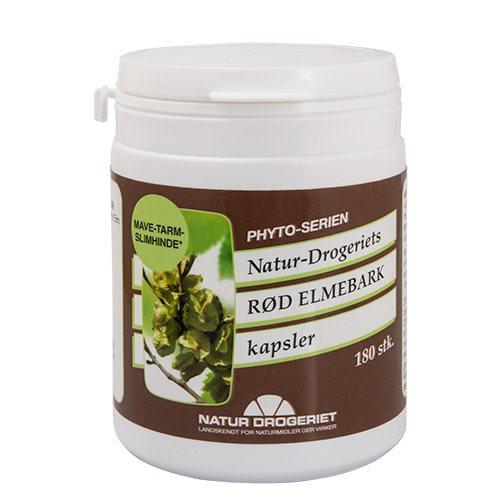Natur Drogeriet Rød elmebark (180 kap)