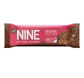 Image of 9NINE bar original m. carob overtræk (40 gr)