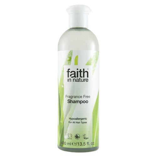 Image of Faith in nature Fragrance Free Shampoo (400ml)