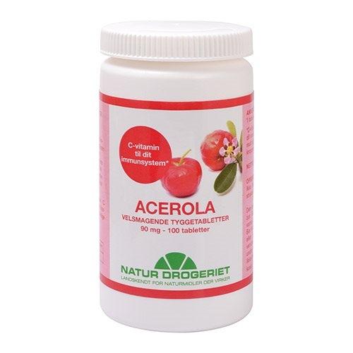 Image of Natur Drogeriet Acerola Natural 90 mg (100 tabletter)