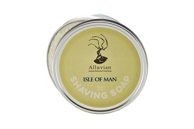 Alluvian Isle of Man Luxury Shave Soap Tin (122 g)