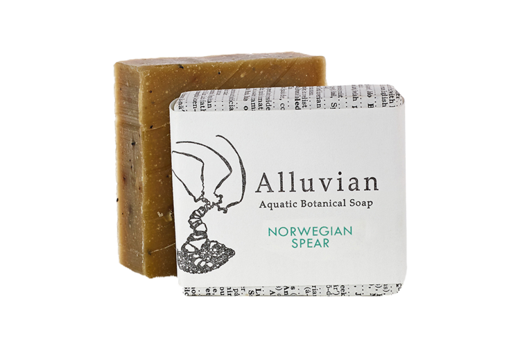 Image of Alluvian Norwegian Spear Aquatic Botanical Bar Soap (99 g)