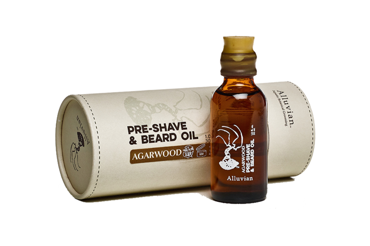 Image of Alluvian Agarwood - PreShave & Beard Oil (30 ml)